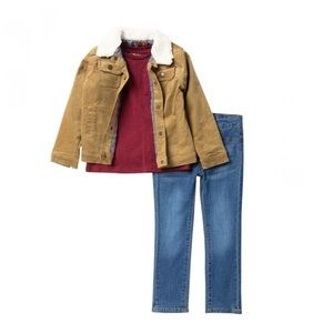 7 FOR ALL MANKIND Jacket, Pant, and Shirt Set
